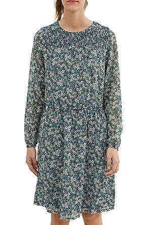 Womens 056eo1e037 - Floatede Chiffon Quality Long Sleeve Dress Esprit Cheap Sale Order Buy For Sale Cheap Sale Footlocker Pictures Online Shop zXUVMWcKDZ