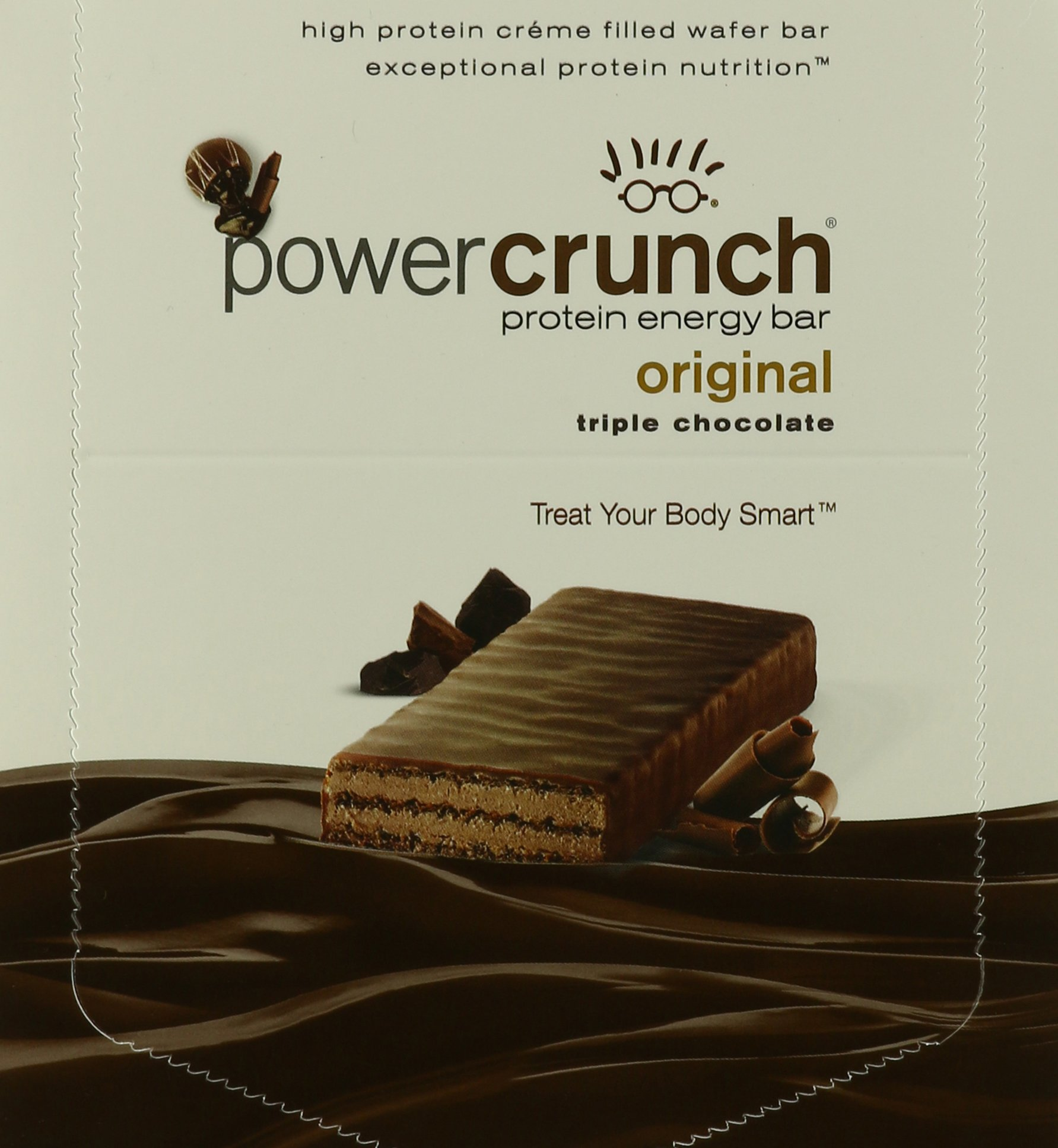 Power Crunch Triple Chocolate, 1.4-Ounce Bar , 12 count by Power Crunch