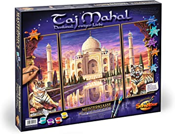 Schipper Malen Nach Zahlen Taj Mahal Bilder Malen Fur