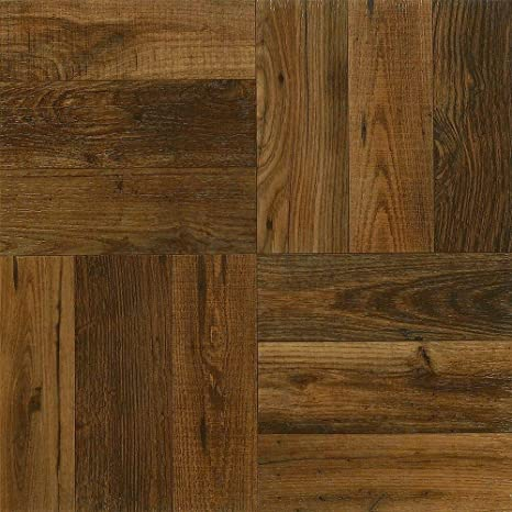 Armstrong 12 In X 12 In Peel And Stick Rustic Wood Vinyl Tile 30