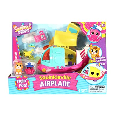 Squinkies 'do Drops - Squinkieville Airplane (Dispatched From UK)