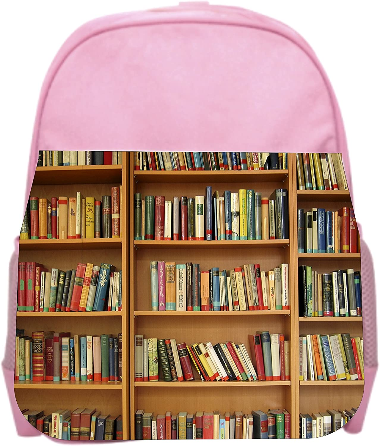 Library Girls Pink Preschool Toddler Childrens Backpack /& Lunch Box Set