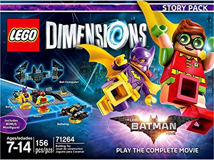 Amazon Com Lego Batman Movie Story Pack Lego Dimensions Not Machine Specific Lego Dimensions Story Pack Video Games