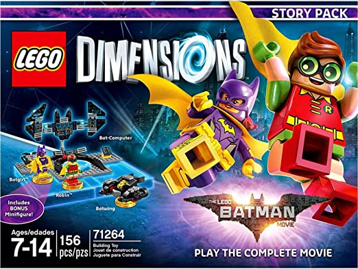 Lego Dimensions Batman Movie Story: Amazon.ca: Computer and Video Games