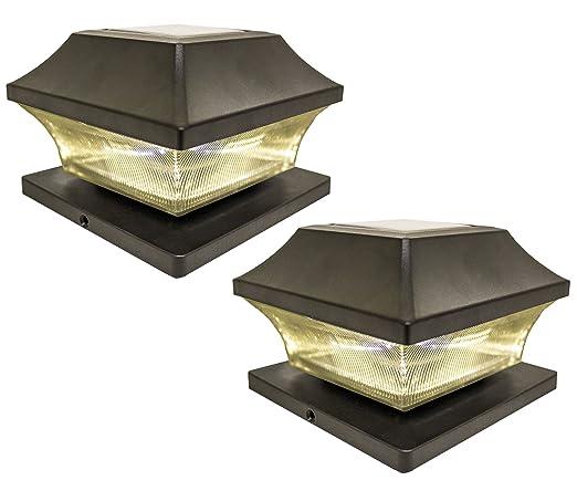Solar light post cap lights 4 x 4 plus super bright 15 lumen solar lightpost cap lights 4 x 4 plussuper bright 15 lumen outdoor aloadofball Images