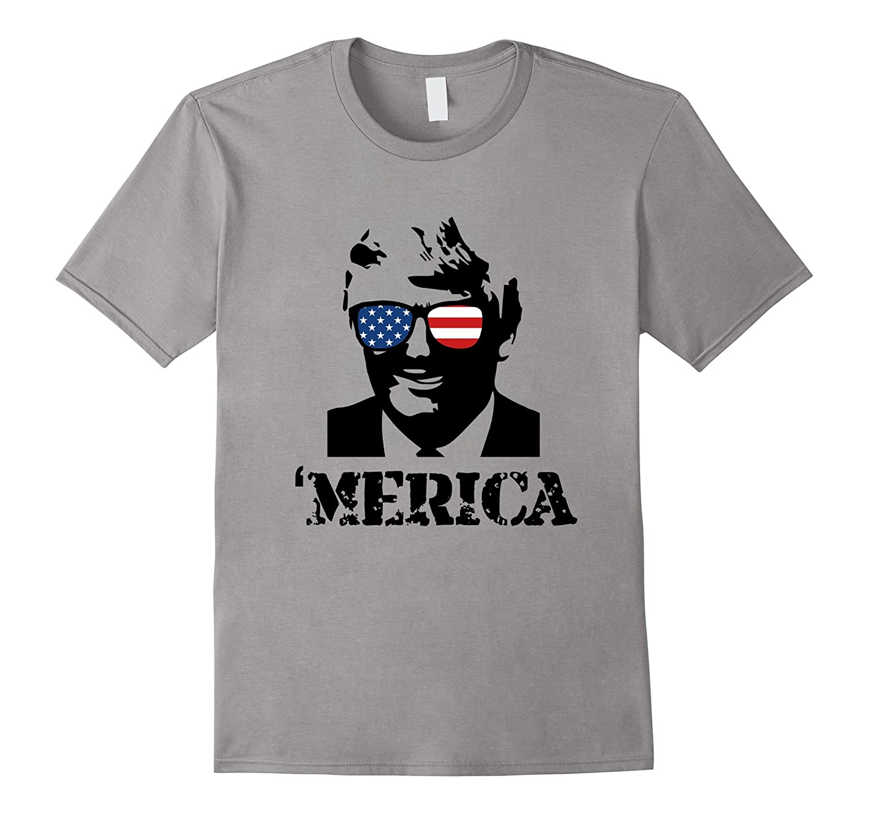 'MERICA Donald Trump T-Shirt-FL