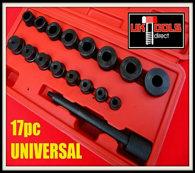 Kit de herramienta de alineación del embrague ALINEACIÓN Universal 17 piezas para todos los coches y furgonetas: Amazon.es: Coche y moto
