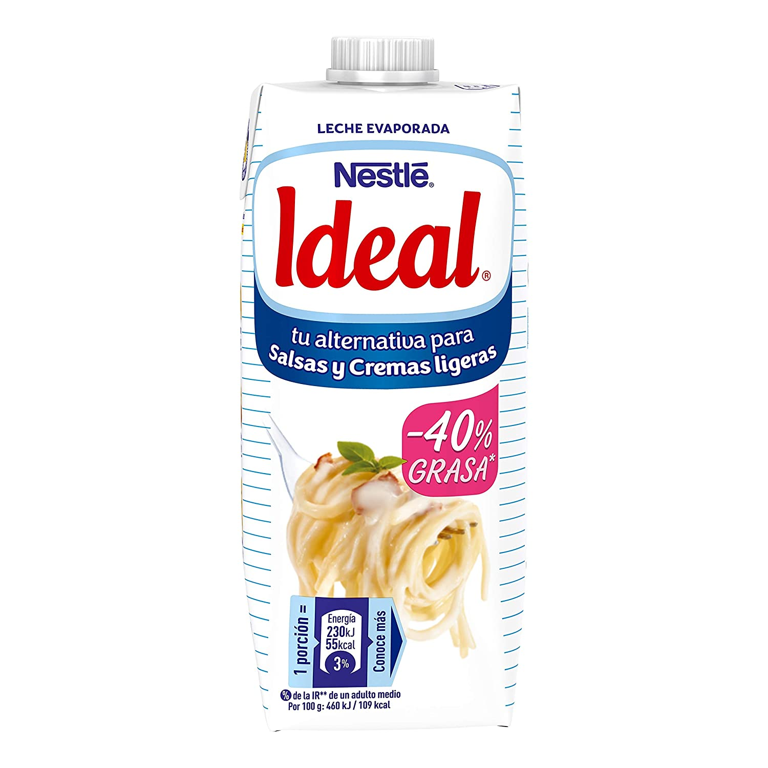 Nestlé - Ideal - Leche Evaporada - 500 ml (525 g): Amazon.es: Alimentación y bebidas