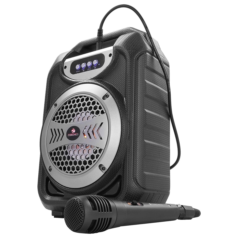 Zebronics Zeb-ACE Portable BT Speaker with mSD, USB, AUX, FM & Mic