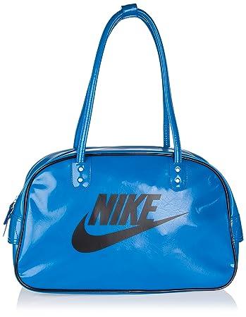02237c7aabfea Nike Damen Schultertasche Heritage SI Club blau   schwarz  Amazon.de ...