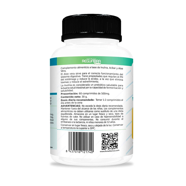 Potente Probiótico con Aloe Vera e Inulina [10 mil millones UFC] – Regula el tránsito intestinal y Mejora la digestión – Previene el ...