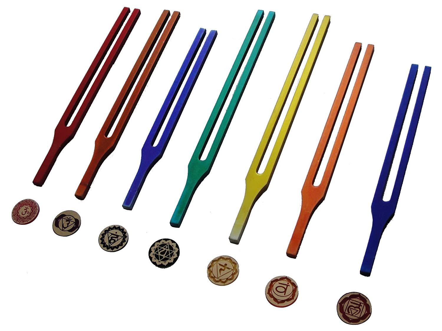 Chakra Tuning Fork Fork Tuning With Colour Therapy Therapy B015J72KN8, アヤカミチョウ:77eb4342 --- verkokajak.se