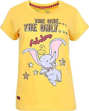 Camiseta Amarilla Dumbo Disney: Amazon.es: Ropa y accesorios