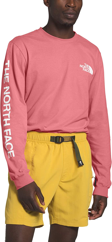 The North Face L/S TNF Sleeve Hit Tee - Camiseta para hombre: Amazon.es: Ropa y accesorios