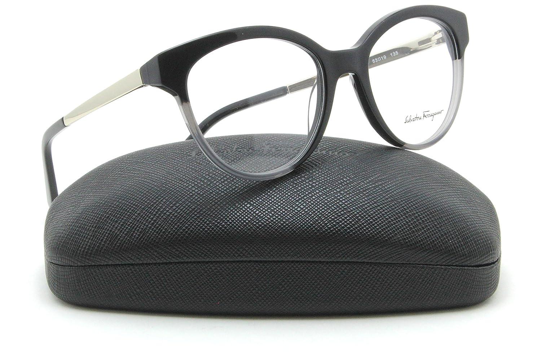 8c604aba9a Amazon.com  Ferragamo SF2784 Women Round Eyeglasses RX - able (013) 53mm   Clothing