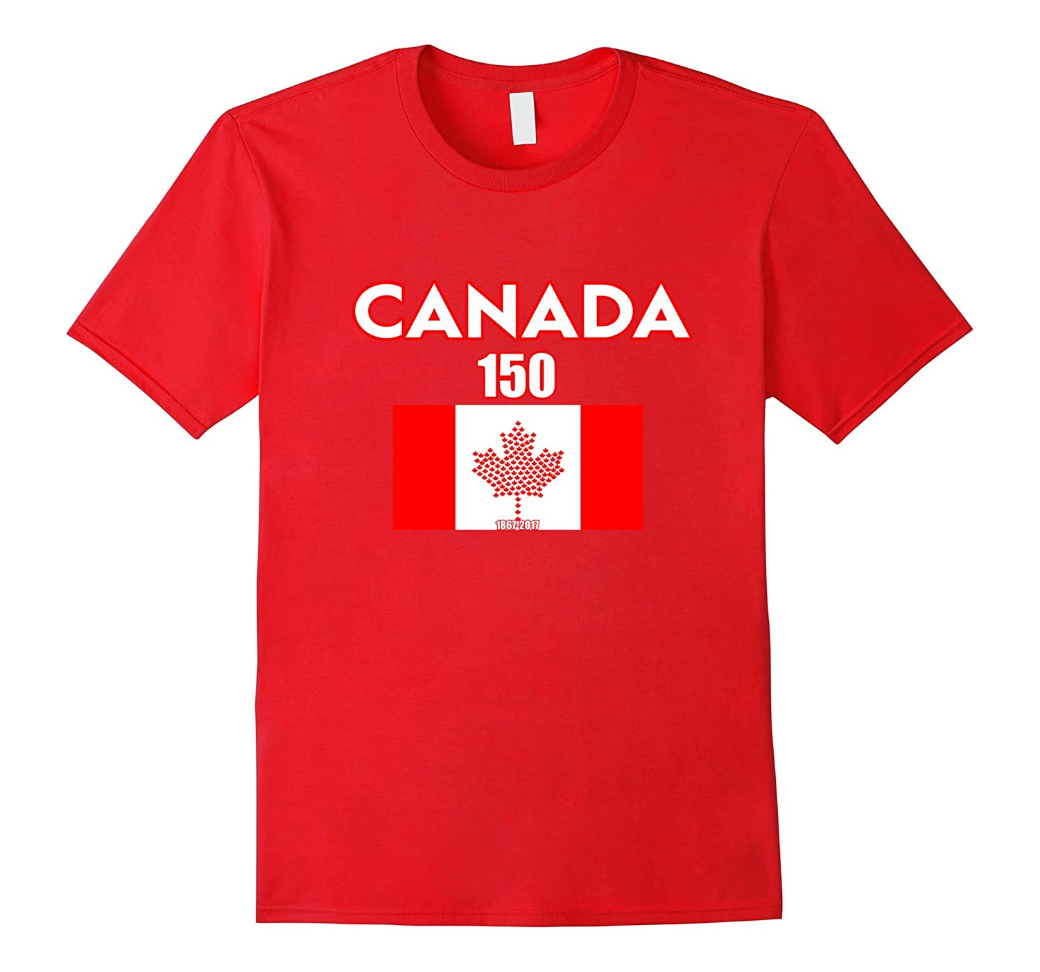 CANADA 150 Years 1867-2017 Shirt Canadian Flag T-shirts-PL