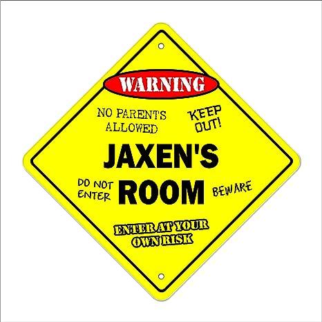 """18/"""" Wide JAXEN Street Sign Childrens Name Room Sign Indoor//Outdoor"""