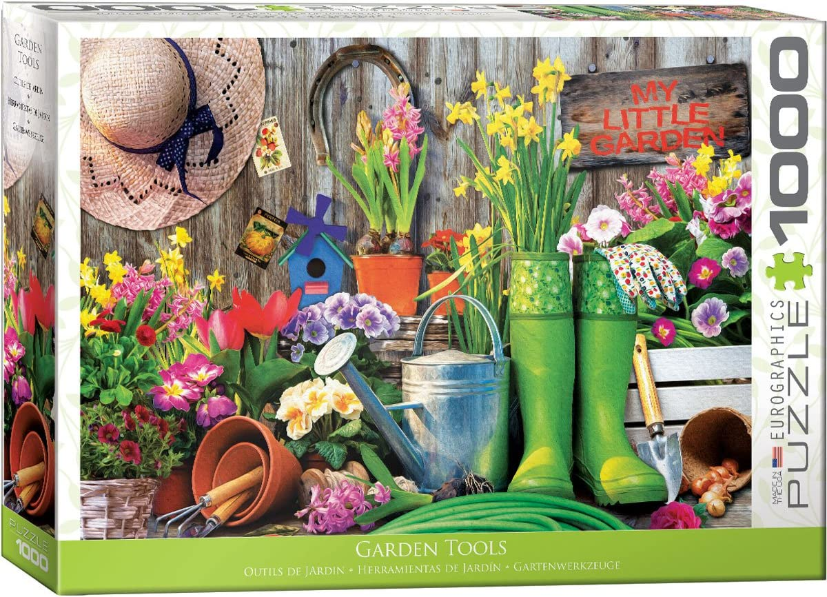 EuroGraphics (EURHR Garden Tools 1000Piece Puzzle 1000Piece Jigsaw Puzzle