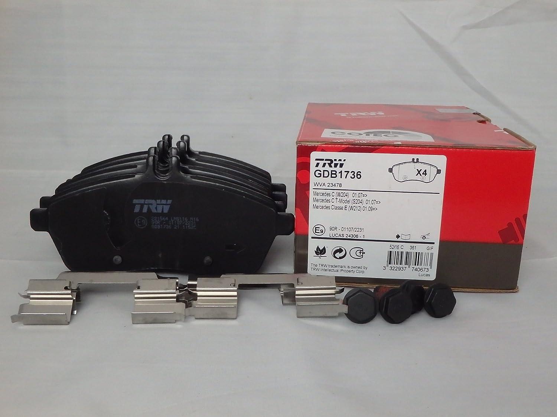 TRW Automotive AfterMarket GDB1736 Pastiglia freno