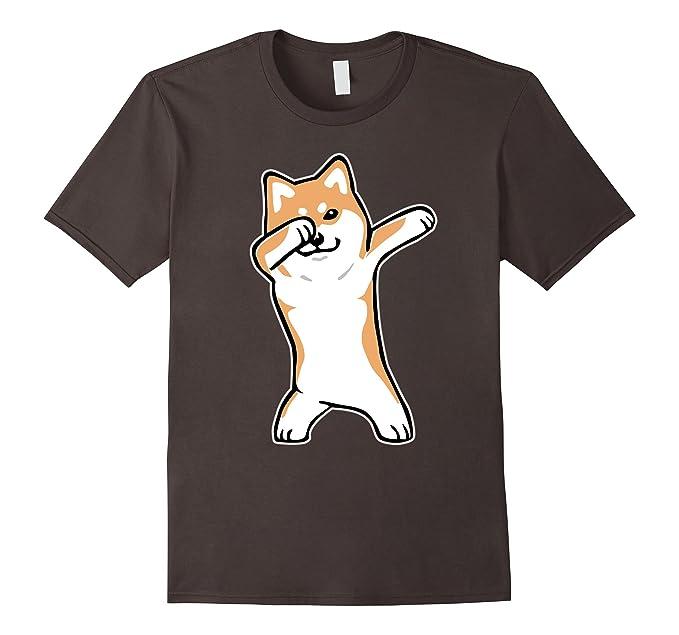 81nk7B4HxIL._UX679_ amazon com dog meme t shirt dabbing shiba inu doge shirt clothing