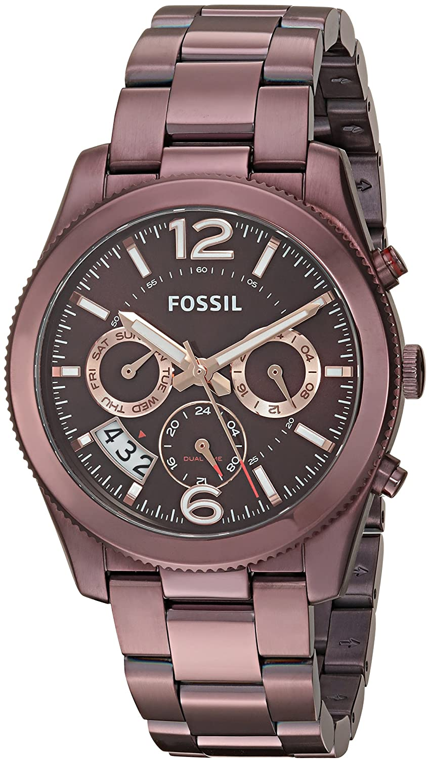 Fossil Big Tic Watch Prices Stainless Steel Analog Breaker Fs 5049 Amazon Com Women S Es4110 Perfect Boyfriend Sport