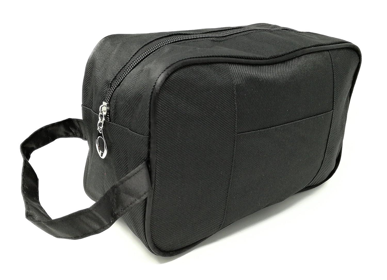 Bolsas de aseo Neceser para Hombre Diseño Moda Tela Varios colores (Marrón Senior)