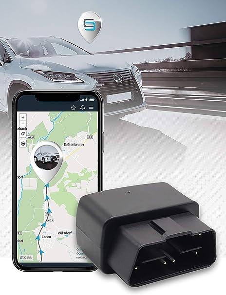 Salind Gps Tracker Auto Fahrzeuge Und Lkw S Obd2 Stecker Diebstahlschutz Für Auto Navigation