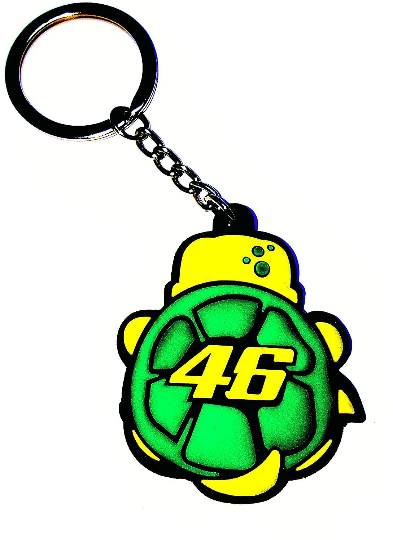 Valentino Rossi Llavero Tortuga Cartoon Numero 46, MotoGP