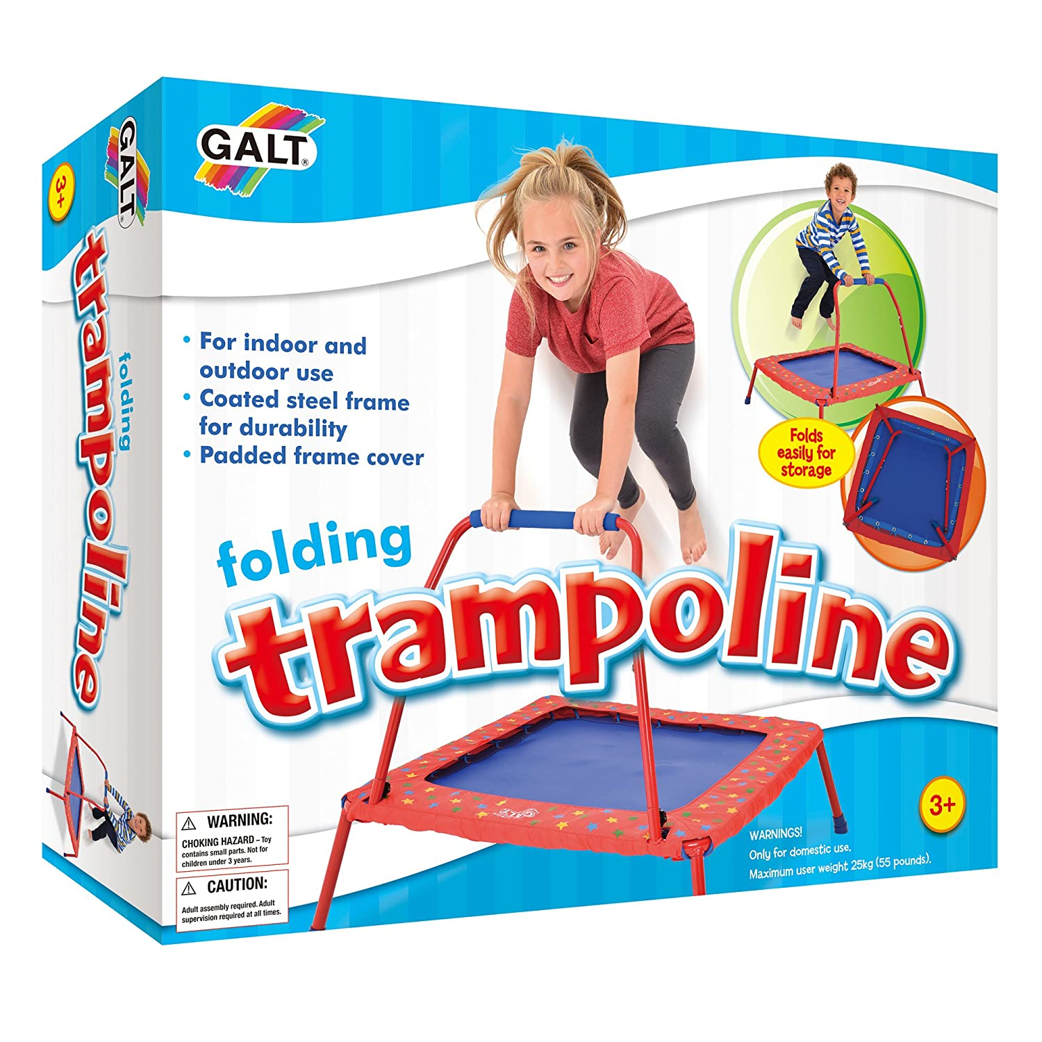 Amazon Galt Folding Trampoline Toys & Games