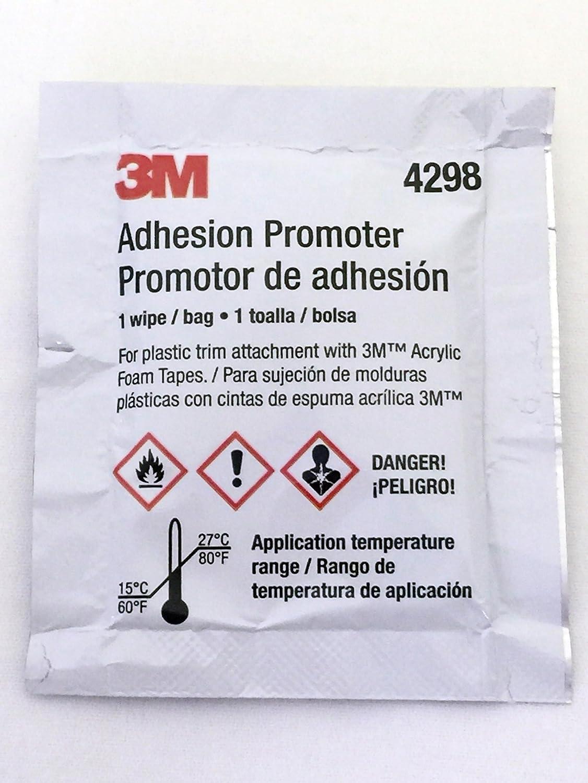 3M 4298 Adhesion Promoter, 25 Sponge Applicators (Choose 3, 5 or 25 Qty)