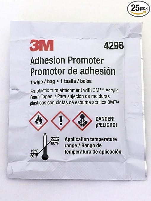 3M 4298 Adhesion Promoter, Sponge Applicator (25)