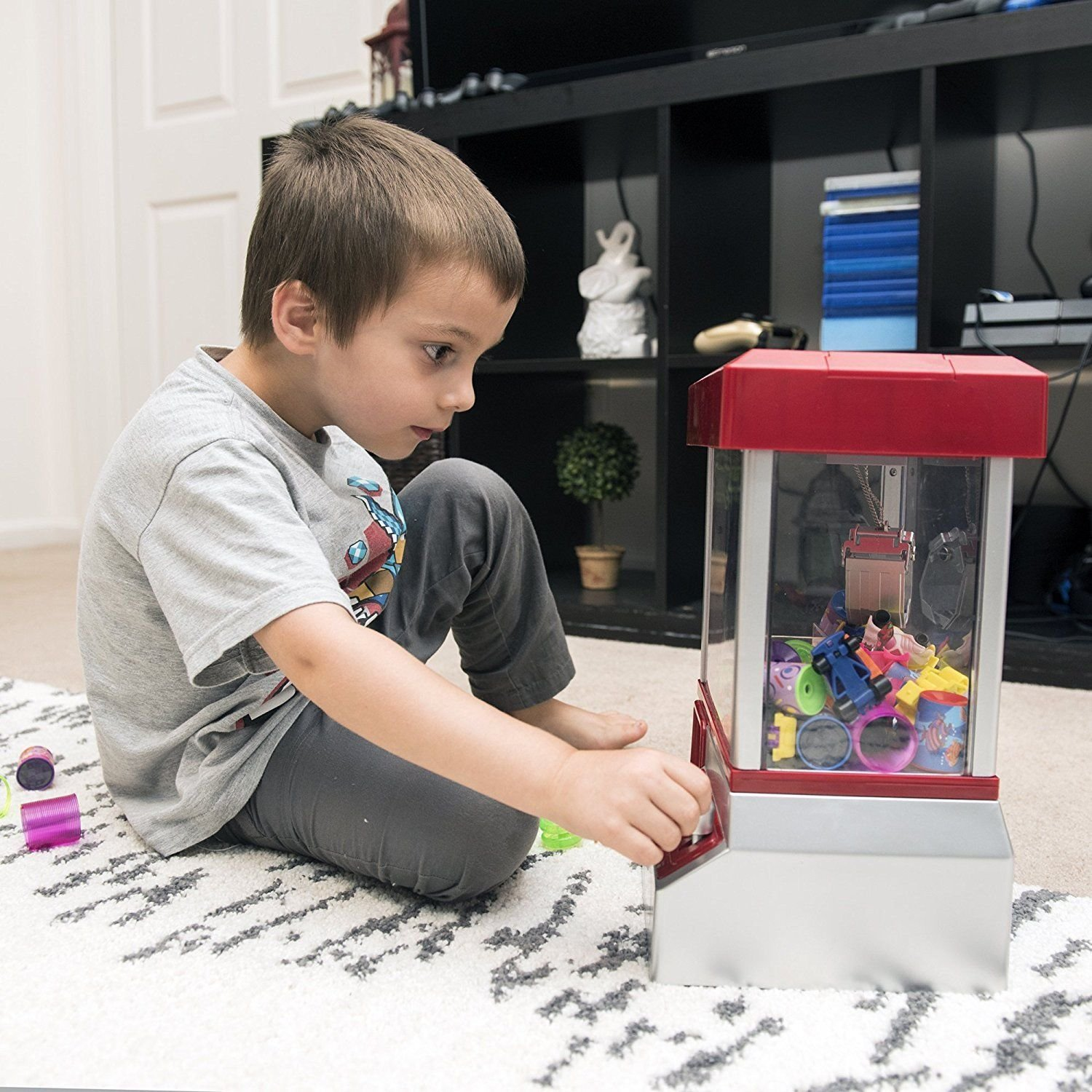 Alek...Shop Carnival Claw Game Electronic Home Arcade Toy Grabber Crane Machine Features And Exciting by Alek...Shop (Image #3)