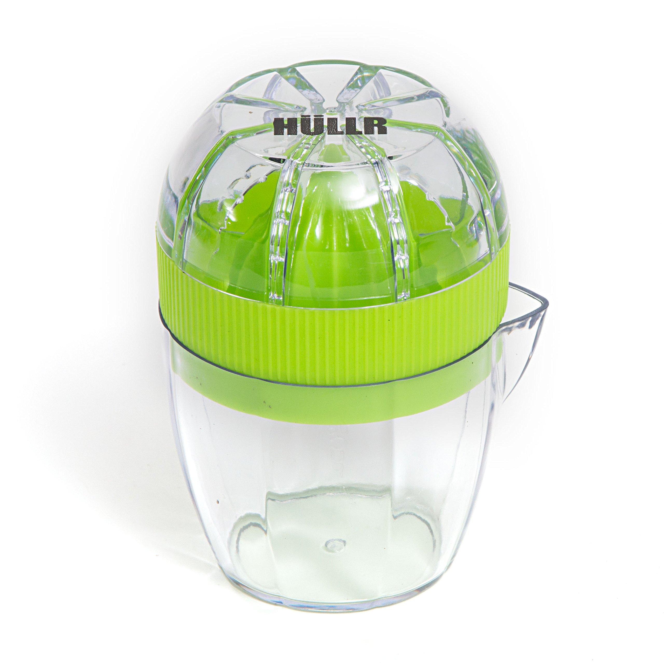 HULLR Lemon Squeezer Lime Juicer Dome Lid and Citrus Storage with Pour Spout