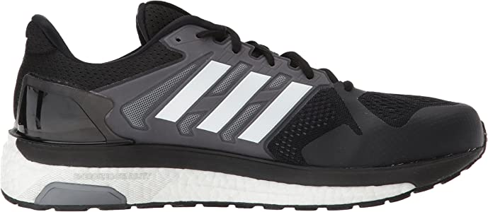 adidas Performance Mens Supernova ST M Running Shoe, Core Black/White/Grey Three, 11.5 M US: Amazon.es: Zapatos y complementos
