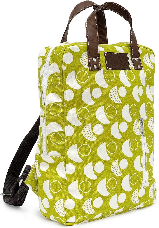 Waxed Black One-Size Maika Backpack