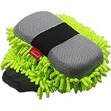 Konpard Ultimate Car Wash Mitt - 2 Pack - Premium Chenille Microfiber Wash Mitt - Wash Sponge - Wash Glove - Lint Free…