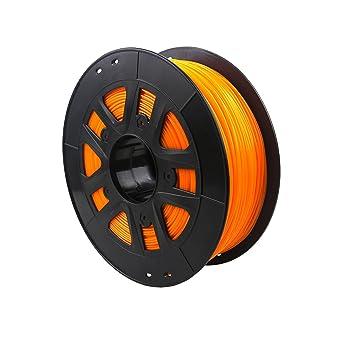 Advanced PLA Filamento 2,85 mm Impresora 3d material 1 kg, naranja ...
