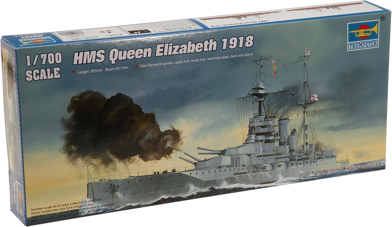 Trumpeter 1/700 HMS Queen Elizabeth 1918 British Battleship