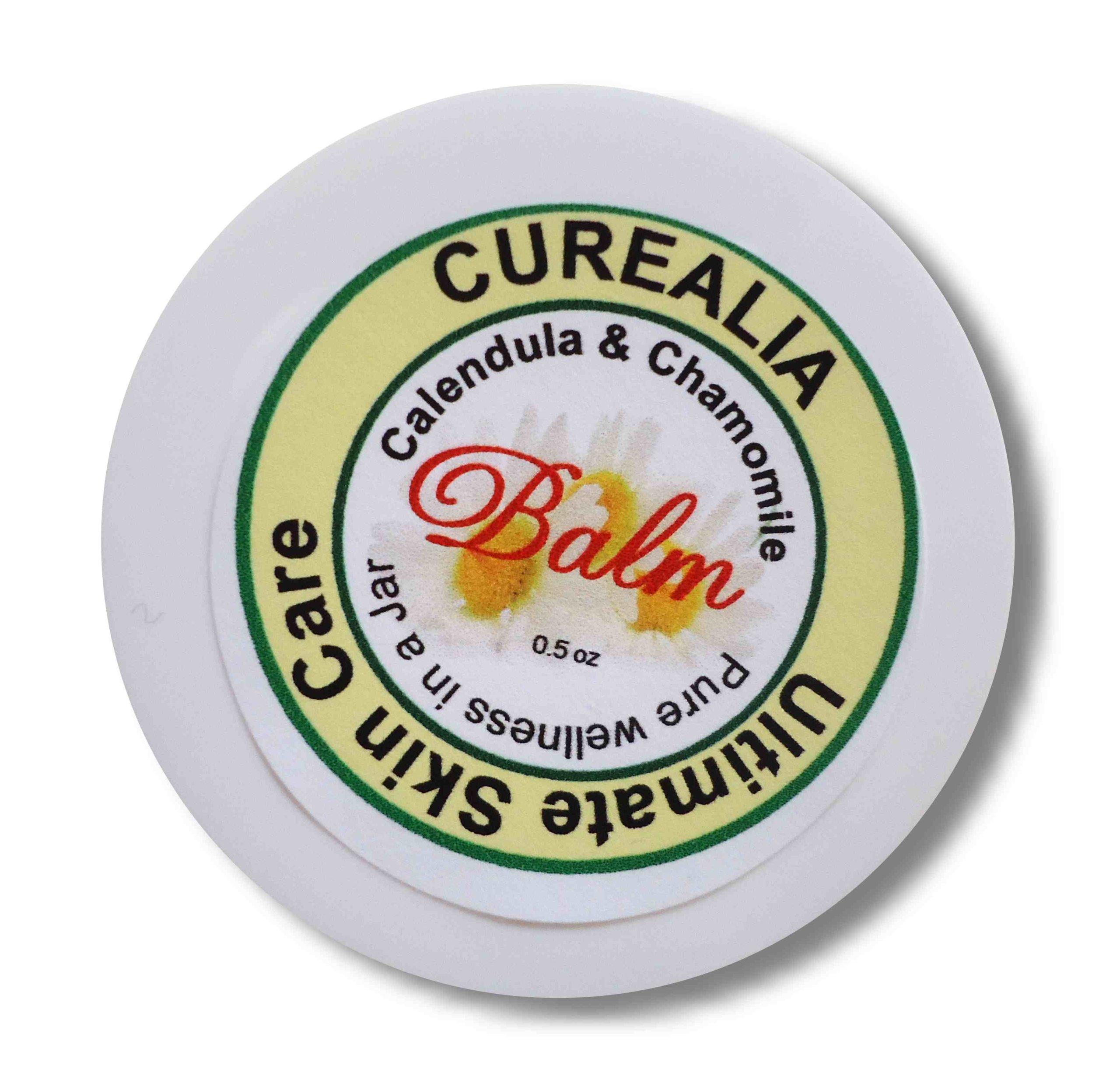 Ultimate Skin Care Balm - All Natural, Calendula, Chamomile - Chemicals Free 0.5 oz