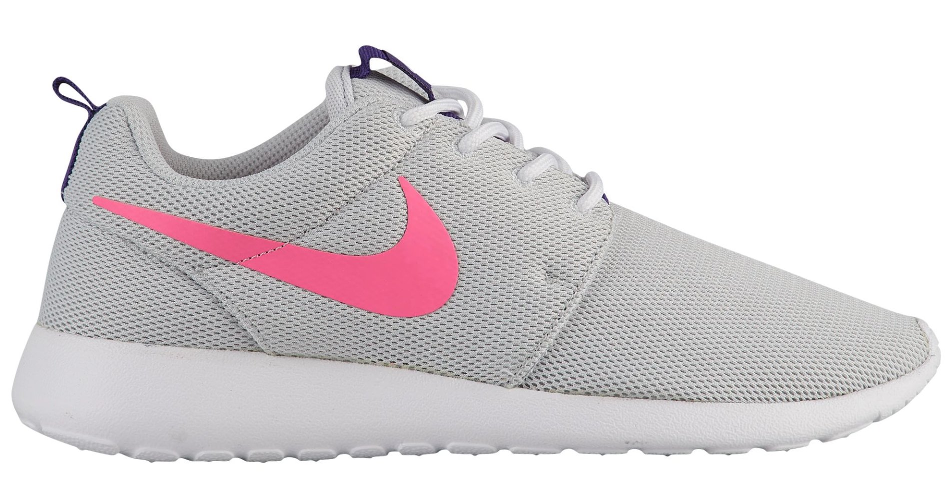 NIKE Roshe One Women's Shoes Pure PlatinumLaser Pink 844994 007 (11.5 B(M) US)