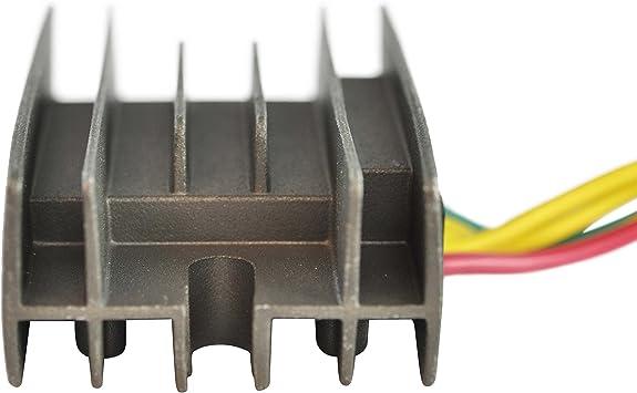 Voltage Regulator For Yamaha 250 Timberwolf Bear Tracker 1997-2000 YFM 350 Wolverine Warrior Big Bear 1995-2001 YFM 400 Kodiak 1996-2001 YFM 600 Grizzly 1998 OEM Repl# 4KB-81960-02-00 4KB-81960-00-00