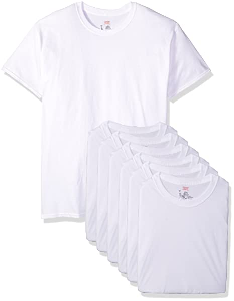 top brands first look pick up Hanes Men's Classics 6 Pack Crew Neck Tee