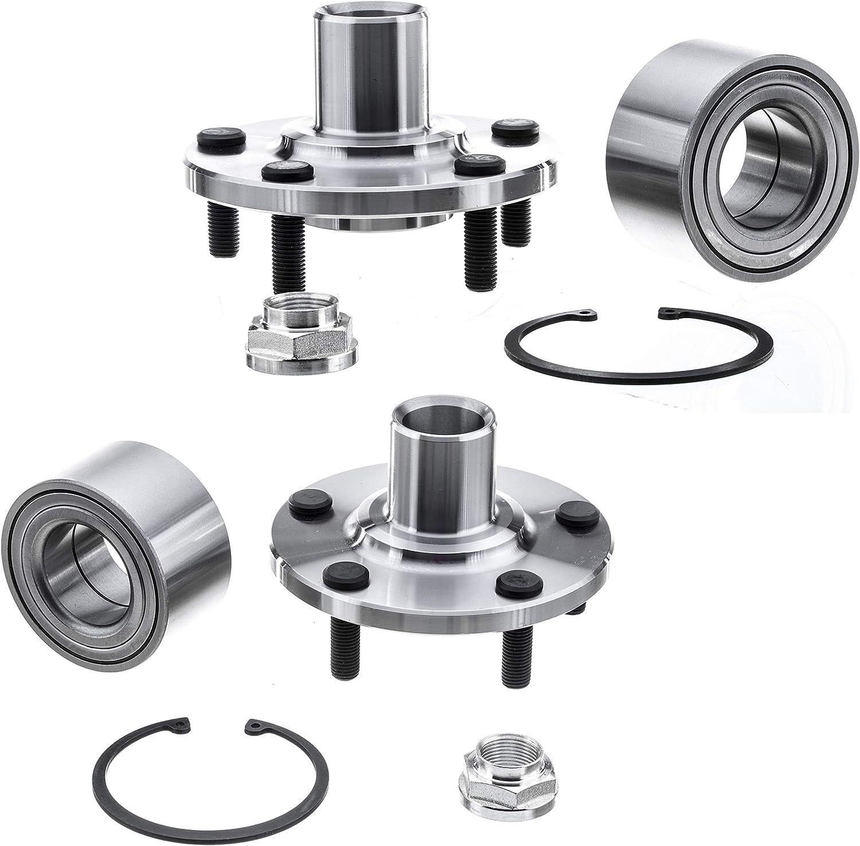 2 New DTA Front Wheel Hub Bearing Repair Kits Fit 4cyl Camry AWD RX300 518508