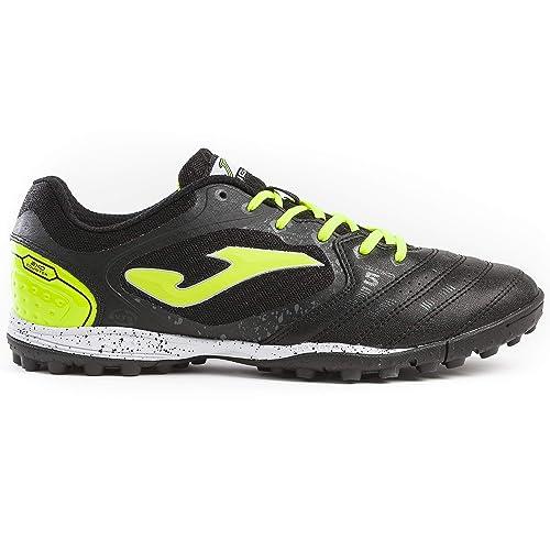 JOMA SPORT - Zapatillas de fútbol Sala de Cuero para Hombre Negro Negro: Amazon.es: Zapatos y complementos