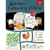 Aunt Martha's Kitchen Designs Embroidery Transfer Pattern Book, Over 25 Iron On Patterns