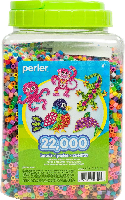 Perler Fuse Hama Beads 22000 unidades canutillos