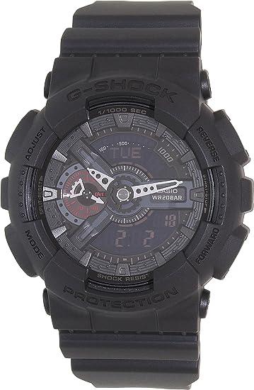Casio Malla Me Up Watch G-SHOCK STANDARD Cuarzo: Batería Japan Reloj (Modelo de Asia) GA-110MB-1A: Casio: Amazon.es: Relojes