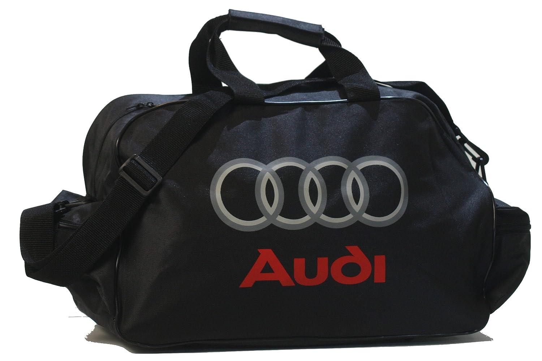 Neu Audi Schwarz Logo Sporttasche Leichte Seesack Reisegepaeck Duffel Wochenende Uebernachtung Taschen Fuer Reisen Sport Gym Urlaub Notorious