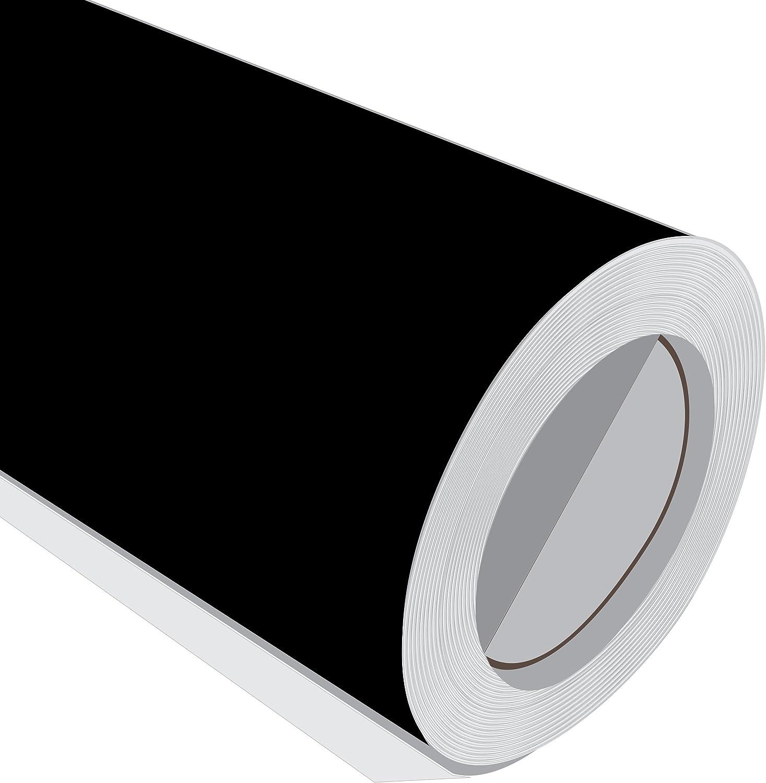 5 m (5 m) rollo de HD Negro Brillante 610 mm de ancho Vinilo ...