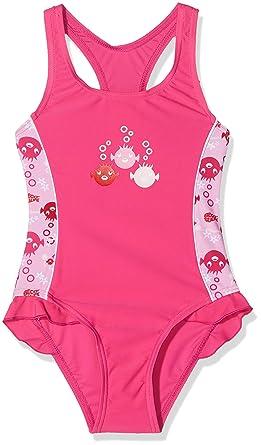 88d66d83801fc Beco Mädchen UV-Badeanzug Sealife Schwimmanzug: Amazon.de: Bekleidung